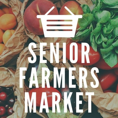 Link to Senior Farmers Market page